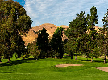 Franklin Canyon Golf Course is located just north of San Francisco in Hercules, CA