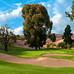 Franklin Canyon Golf Course is located just north of San Francisco